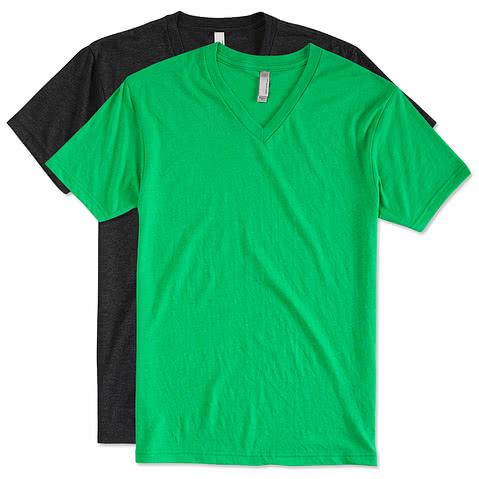 Next Level Tri-Blend V-Neck T-shirt