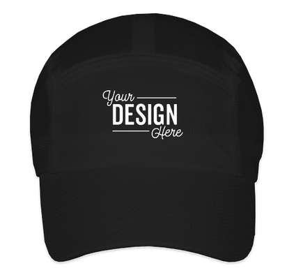 Team 365 Headsweats Performance Running Hat - Black