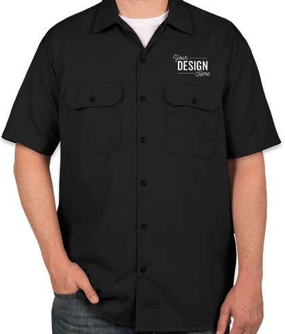 Dickies Twill Industrial Work Shirt - Black