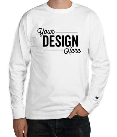Champion Premium Fashion Classics Long Sleeve T-shirt - White