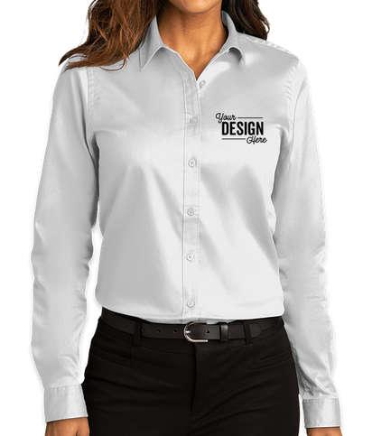 Port Authority Women's SuperPro React Dress Shirt - White