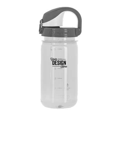 Nalgene 12 oz. Kids On-The-Fly Water Bottle - Clear / Grey