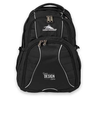 "High Sierra® Swerve 17"" Computer Backpack - Black"
