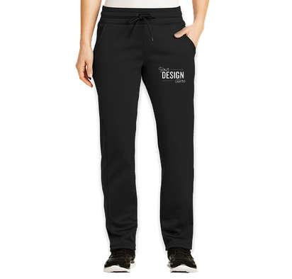 Sport-Tek Women's Sport-Wick Performance Sweatpants - Black