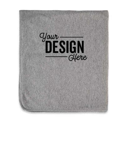 Marine Layer Signature Blanket - Heather Grey / Asphalt Grey