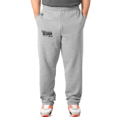 Russell Athletic Dri Power Open Bottom Sweatpants - Oxford