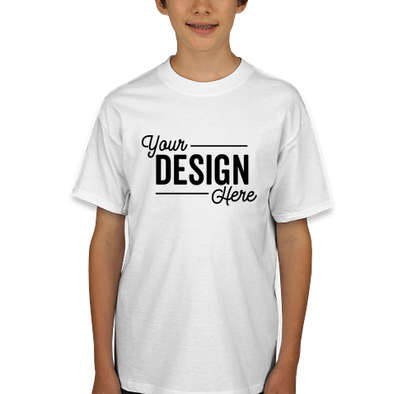 Hanes Youth Beefy T-shirt - White