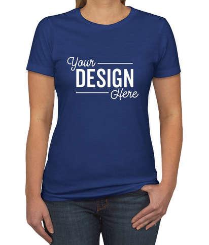 Next Level Women's Slim Fit Jersey Blend T-shirt - Royal
