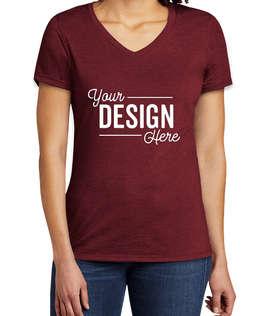 Allmade Women's Tri-Blend V-Neck T-shirt