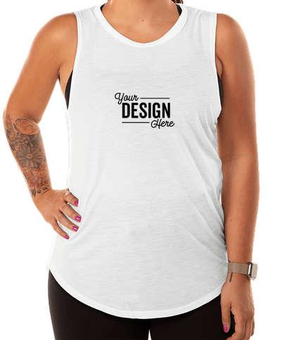 Alternative Apparel Women's Slinky Jersey Muscle Tank - White