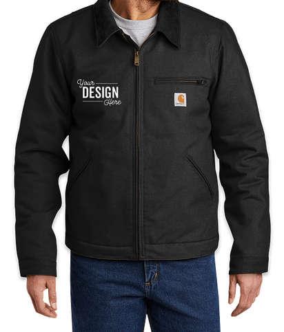 Carhartt Tall Duck Detroit Jacket  - Black