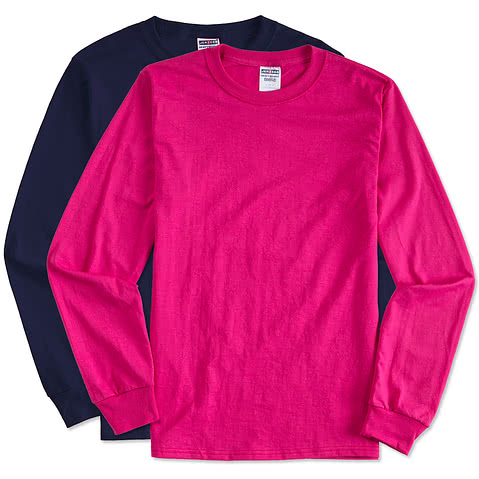 Canada - Jerzees 50/50 Long Sleeve T-shirt