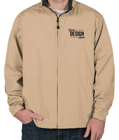 North End Full Zip Hooded Jacket - Putty