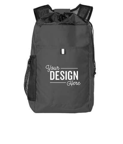 Port Authority Hybrid Backpack - Charcoal / Black