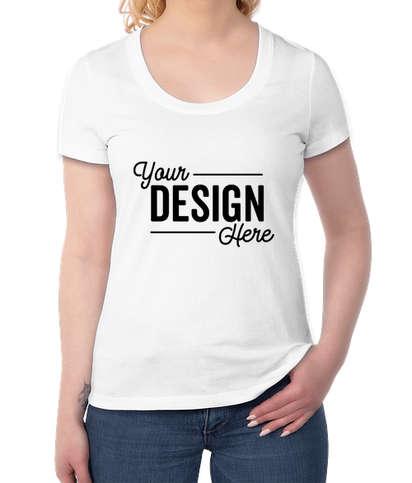 District Women's Flex Scoop Neck T-shirt - White