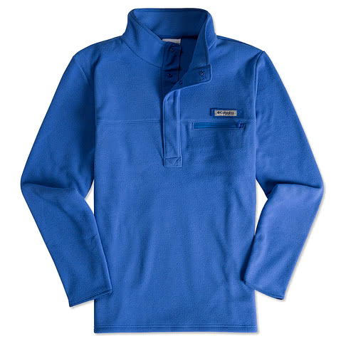Columbia Harborside Quarter Zip Snap Fleece Pullover