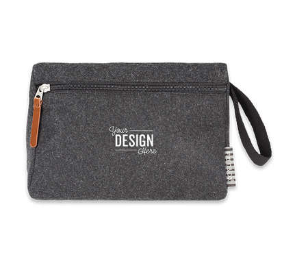 Field & Co. Campster Travel Pouch - Charcoal