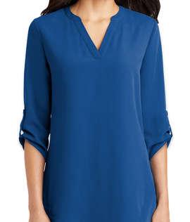 Port Authority Women's 3/4 Sleeve Tunic Blouse