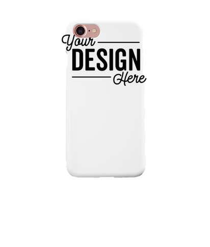 Full Color iPhone 8 Slim Phone Case - White