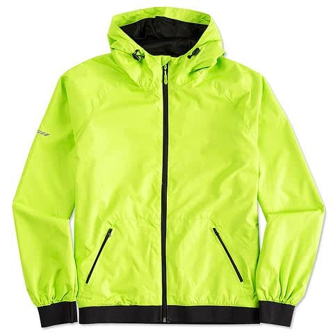 Sport-Tek Embossed Full Zip Hooded Jacket