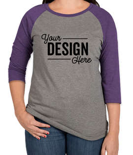 District Women's Tri-Blend Raglan T-shirt