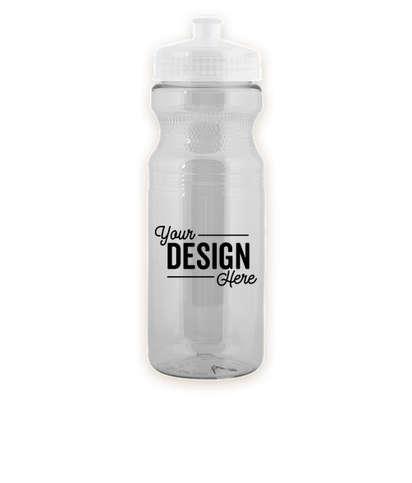 24 oz. Translucent Bike Water Bottle - Transparent Clear