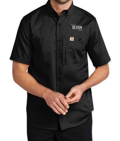 Carhartt Rugged Professional Short Sleeve Shirt  - Black