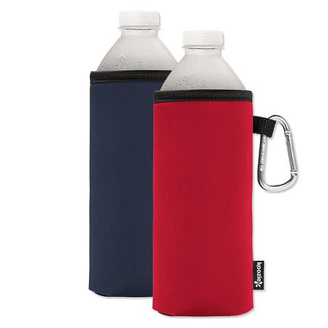 Foldable Large Bottle KOOZIE ® w/ carabiner