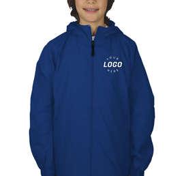 Sport-Tek Youth Full Zip Hooded Jacket