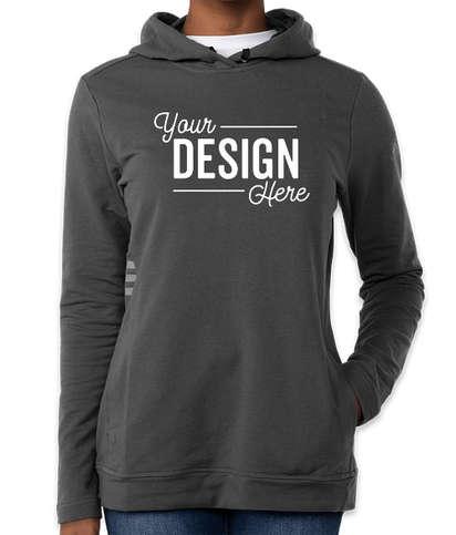 Adidas Women's Pullover Hoodie - Grey Five