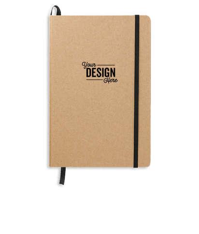 JournalBooks ® Debossed Recycled Ambassador Bound Notebook - Natural