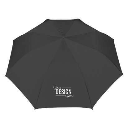 "58"" Ultra Value Auto Open Folding Golf Umbrella - Black"
