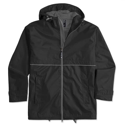 Charles River New Englander Hooded Rain Jacket