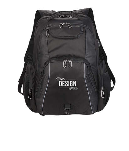 """Rainier TSA 17"""" Computer Backpack - Black"""