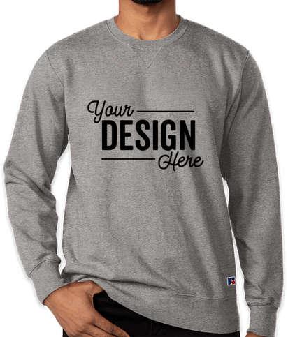 Russell Athletic Cotton Rich Crewneck Sweatshirt - Medium Grey Heather