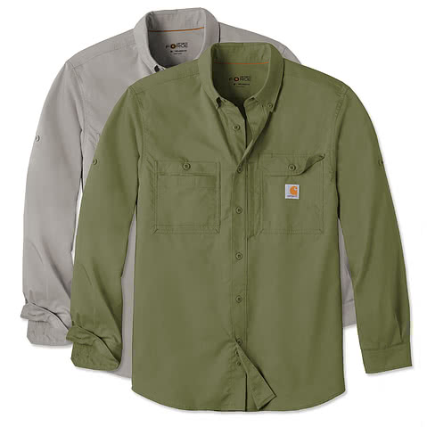 Carhartt Force Ridgefield Button Down Shirt