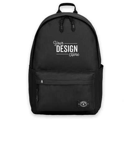 """Parkland Vintage 13"""" Computer Backpack - Black"""