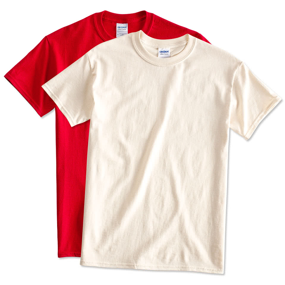 Design custom printed gildan ultra cotton t shirts online for T shirts online custom