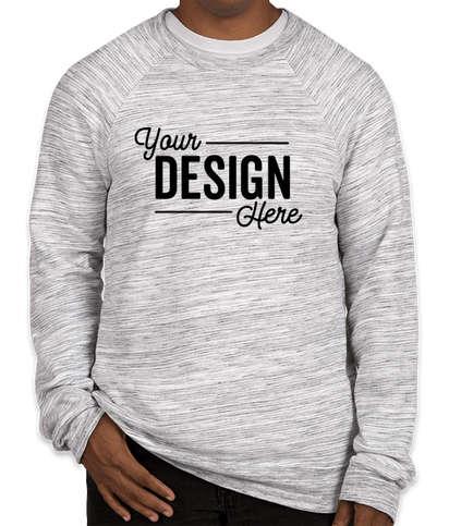 Canada - Bella + Canvas Ultra Soft Crewneck Sweatshirt - Light Grey Marble