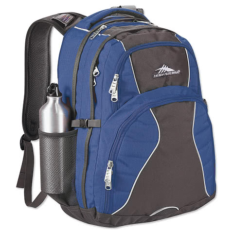 "High Sierra® Swerve 17"" Computer Backpack"