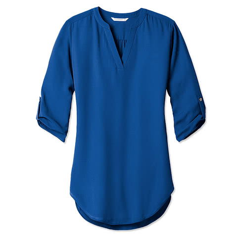 Port Authority Women's 3/4 Tunic Blouse