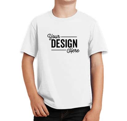 Port & Company Youth Fan Favorite T-shirt - White