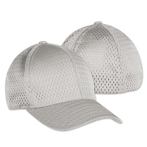 Yupoong Athletic Mesh Flexfit Hat