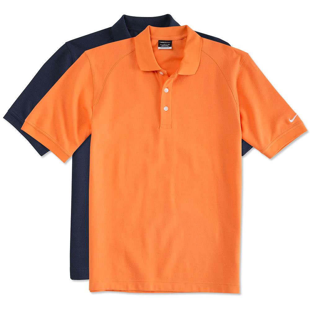 Design custom printed nike golf pique sport shirts online for Customize nike shirts online