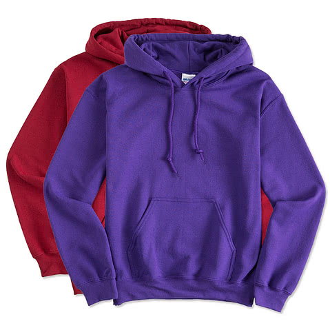 Gildan Midweight 50/50 Hooded Sweatshirt