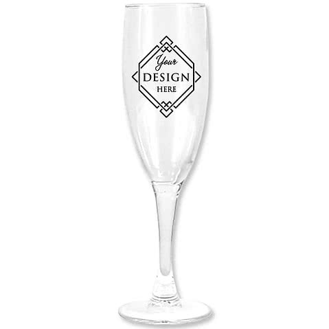5.75 oz. Champagne Flute Glass