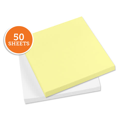 "3M Post-It Notes- 2.75"" x  3"" - 50 sheets/pad"