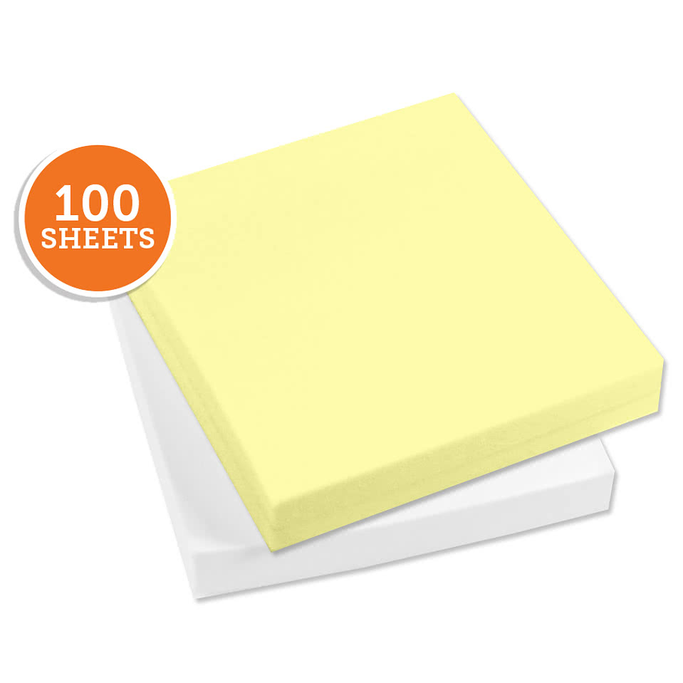 "3M Post-It Notes- 2.75"" x  3"" - 100 sheets/pad"