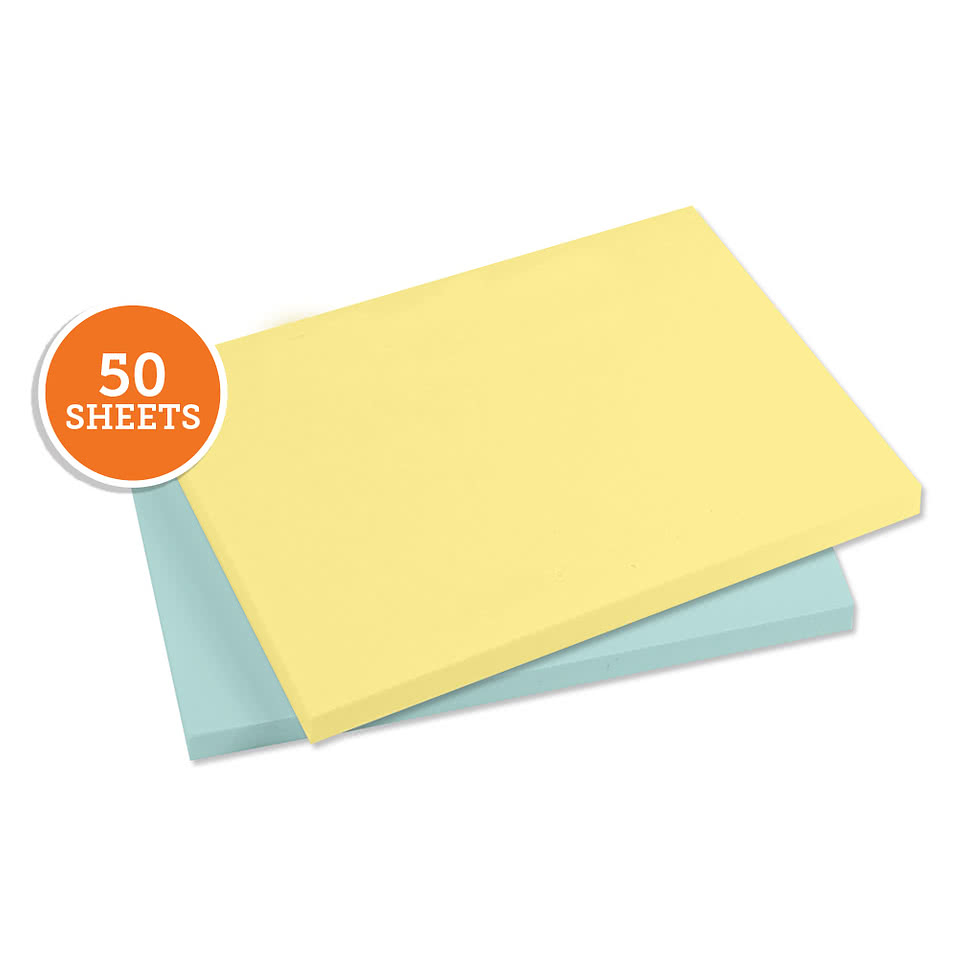 "3M Post-it Note®-  4"" x 3"" - 50 sheets/pad"