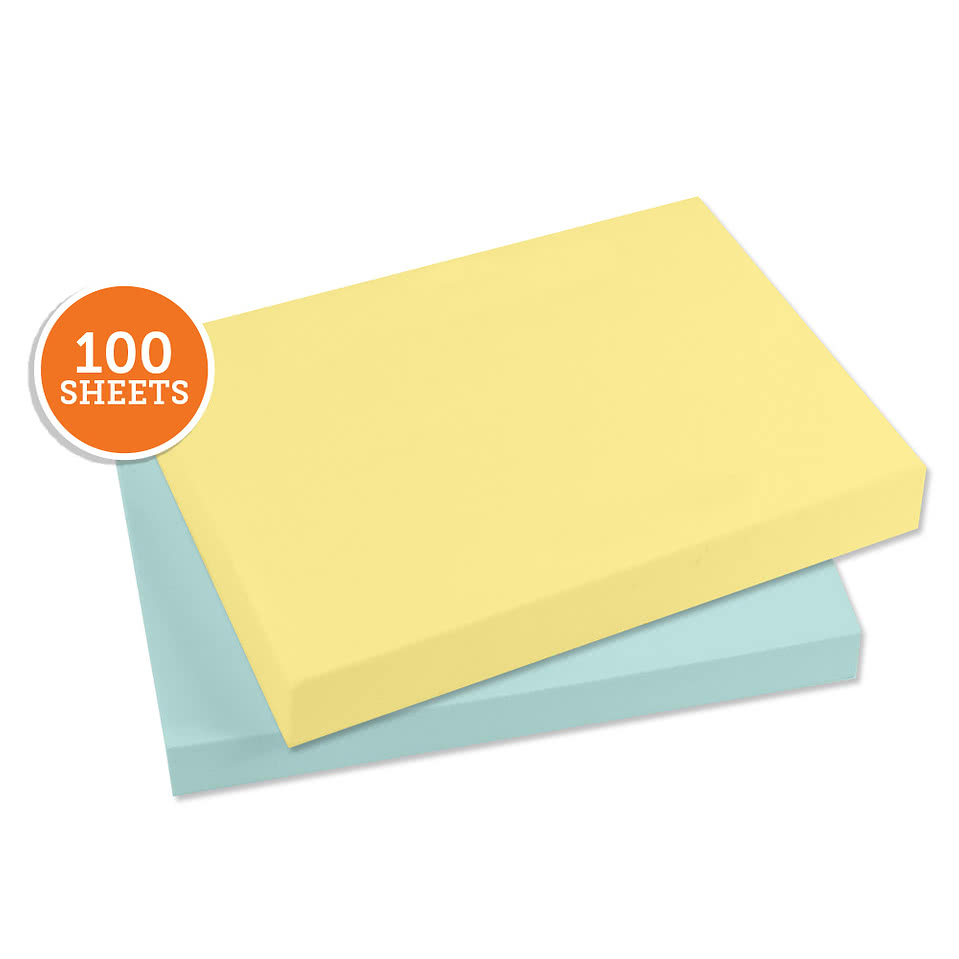 "3M Post-It Notes- 4"" x 3"" - 100 sheets/pad"